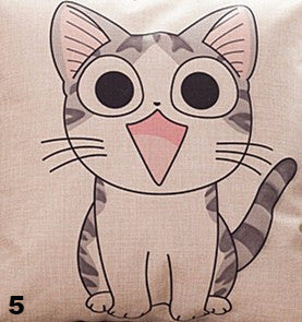 Image of Happy Cat Pillows - I Love Cat Socks - 6