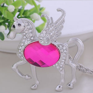 Fashionable Pegasus Necklace - I Love Cat Socks