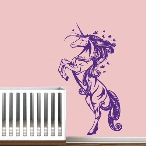 Lovely Unicorn Horse Wall Sticker
