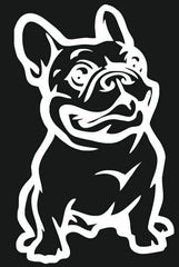 French Bulldog Car Sticker Decal