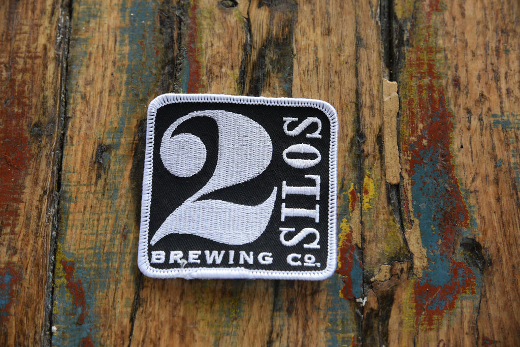 Embroidered Patch - 2 Silos