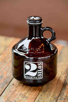 Mini Amber Growler - 2 Silos 32oz