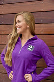 Ladies 1/4 Zip Fleece - 2 Silos