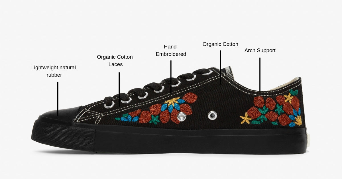 Ethically made sneakers