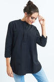 Fanaa Blouse Black Luxury Wear