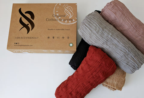 Organic Cotton Scarf Box Special