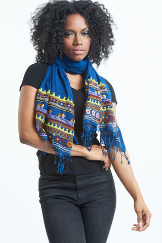 Regal Embroidered Scarf For Women
