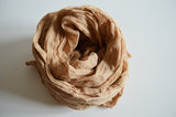 Organic Cotton Textured Scarf For Vegan Fashion