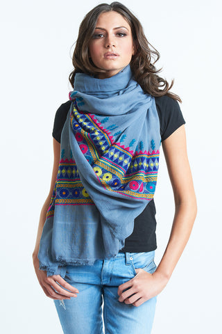 WomenTribal Love Scarf