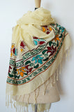 Luxury Ethical Fashion Cotton Lotus Love Scarf