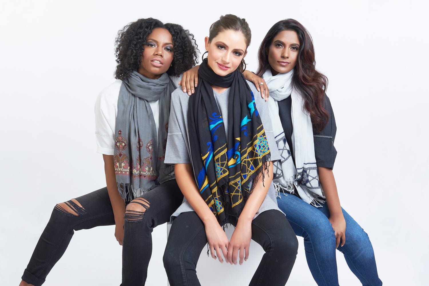 Timeless Breathable Scarves