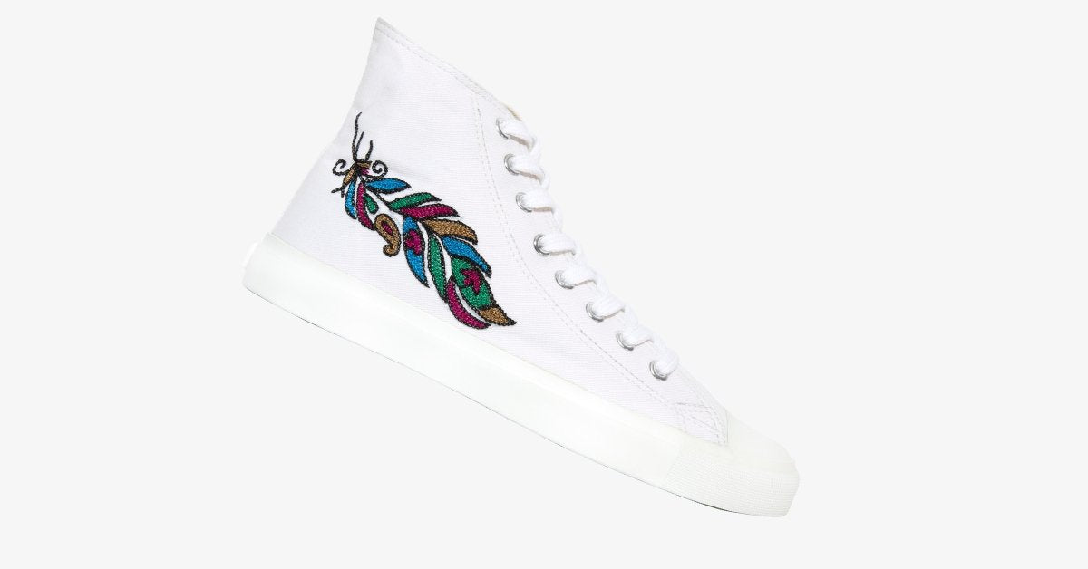 Hand Embroidered Sneaker