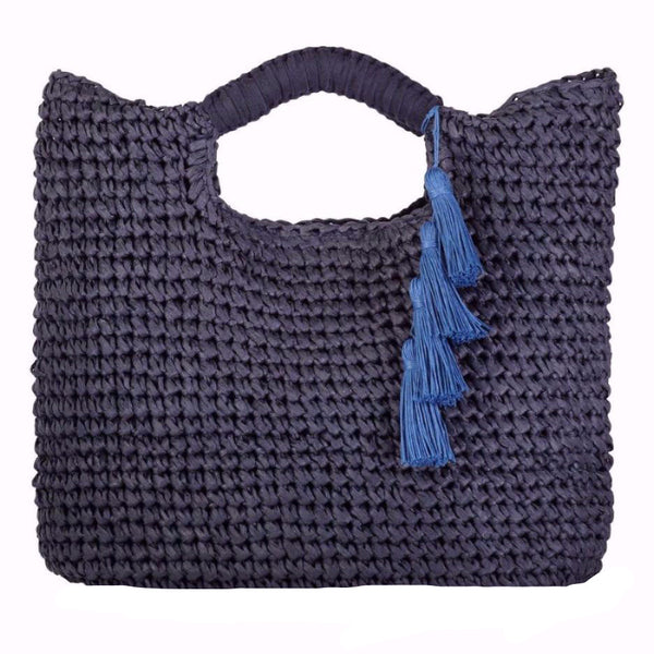 Paloma - Woven Straw Tote