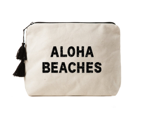 ALOHA BEACHES - Crystal Bikini Bag Clutch