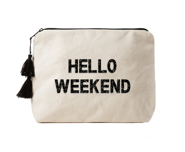 HELLO WEEKEND - Crystal Bikini Bag Clutch