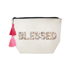 BLESSED - Confetti Cosmetic Case