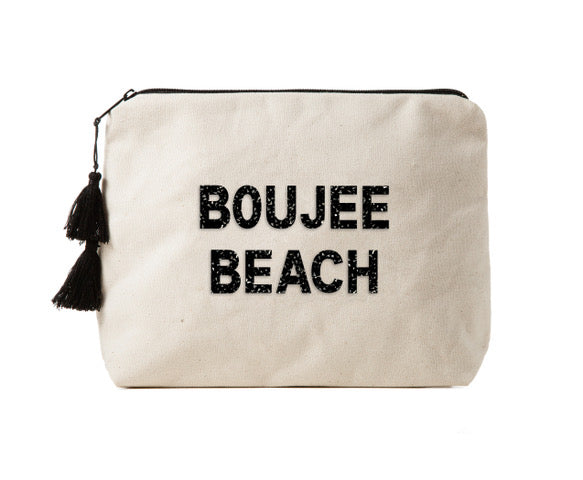 BOUJEE BEACH -Crystal Bikini Bag Clutch
