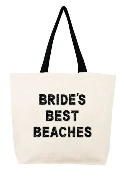 Brides Best Beaches Crystal Tote