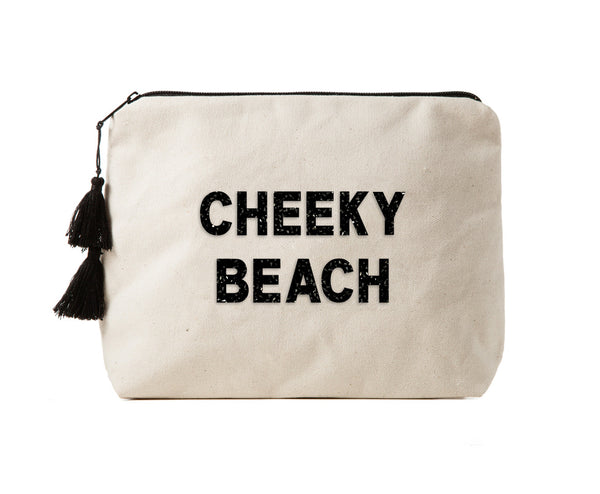 CHEEKY BEACH - Crystal Bikini Bag Clutch