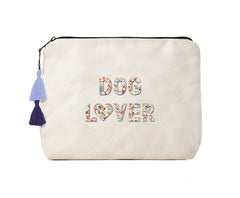 Dog Lover -Confetti Bikini Clutch