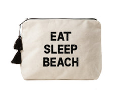 EAT SLEEP BEACH - Crystal Bikini Bag Clutch