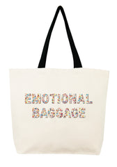 Emotional Baggage Confetti Bead Tote