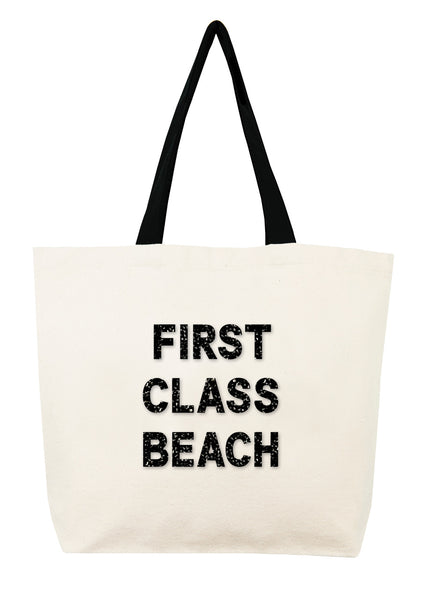 First Class Beach Crystal Tote