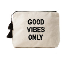 GOOD VIBES ONLY - Crystal Bikini Bag Clutch