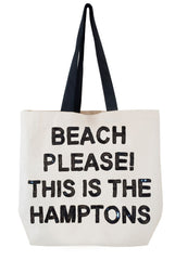 Beach Please, This is the Hamptons Sequin Tote
