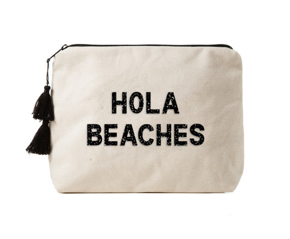 HOLA BEACHES - Crystal Bikini Bag Clutch