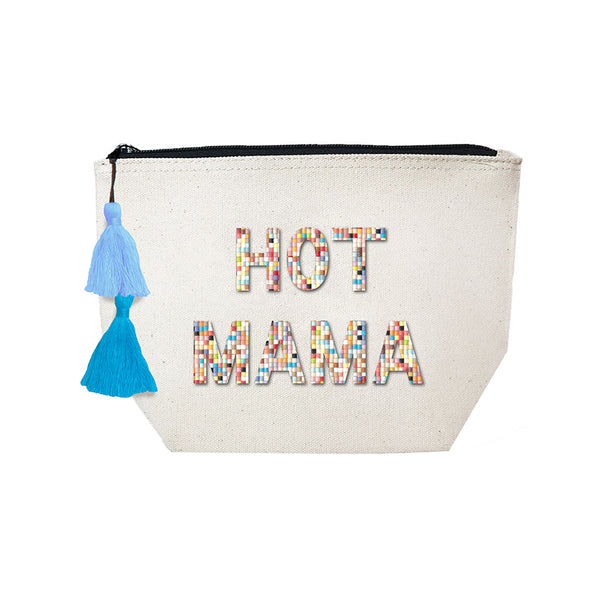 Hot Mama - Confetti Cosmetic Case