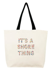 It's a Shore Thing Confetti Bead Tote