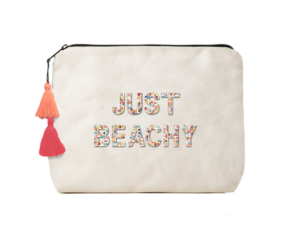 Just Beachy -Confetti Bikini Clutch