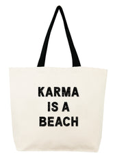 Karma is a Beach Crystal Tote
