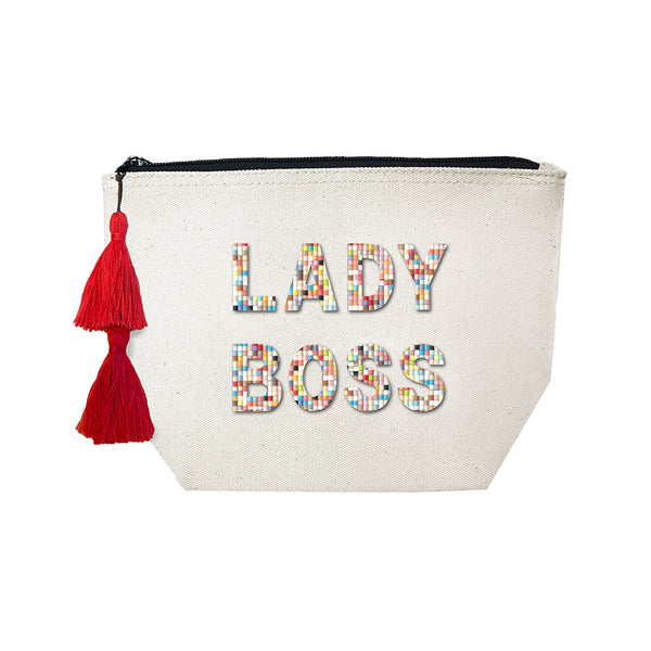 LADY BOSS - Confetti Cosmetic Case