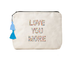 Love You More-Confetti Bikini Clutch