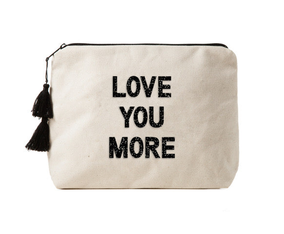 LOVE YOU MORE - Crystal Bikini Bag Clutch