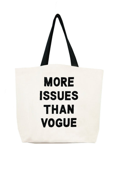 More Issues Than Vogue Crystal Tote
