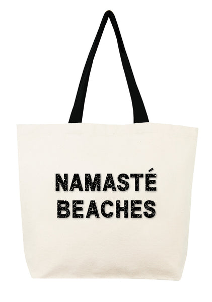 Namasté Beaches Crystal Tote