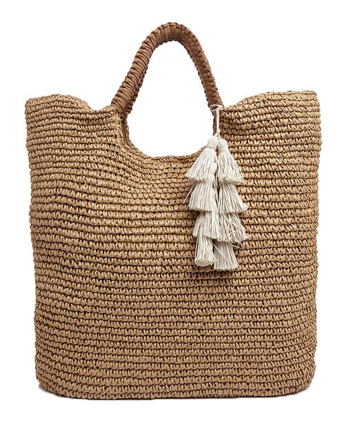 17a385ab00ab8a MEL -WOVEN STRAW TOTE – FALLON AND ROYCE