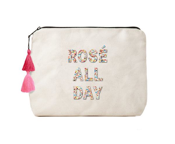 Rosé All Day - Confetti Bikini Clutch