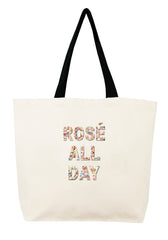 Rosé All Day Confetti Bead Tote