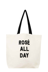 Rosé All Day Crystal Tote