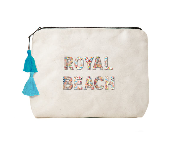 Royal Beach -Confetti Bikini Clutch