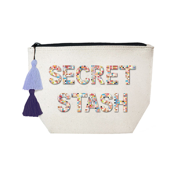 SECRET STASH - Confetti Cosmetic Case
