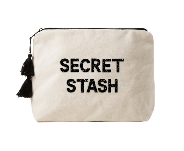 SECRET STASH-Crystal Bikini Bag Clutch