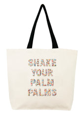 Shake your Palm Palms Confetti Bead Tote