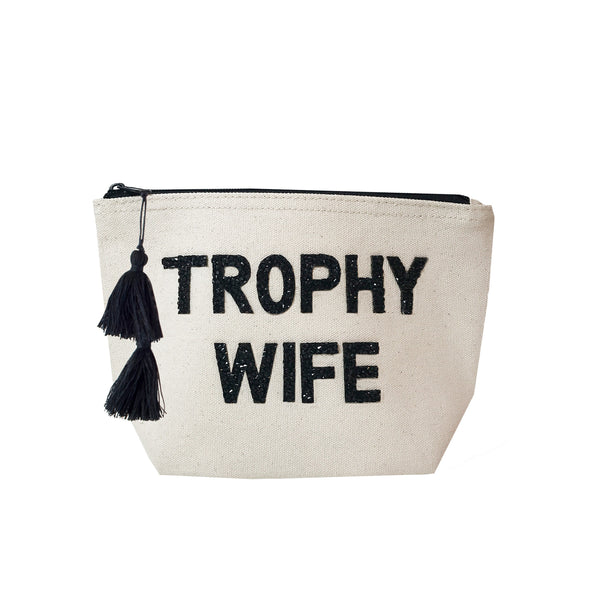 TROPHY WIFE - Crystal Cosmetic Case