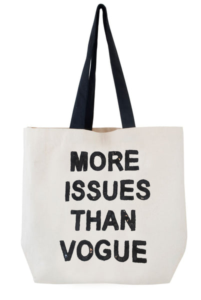 More Issues than Vogue Sequin Tote