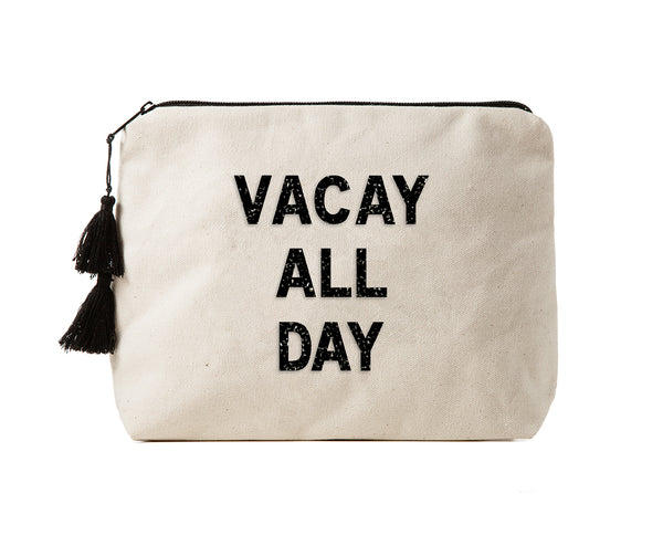 VACAY ALL DAY - Crystal Bikini Bag Clutch
